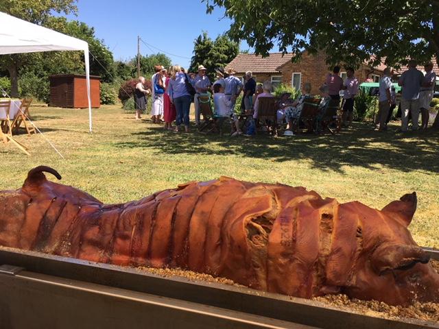 hog roast Royton